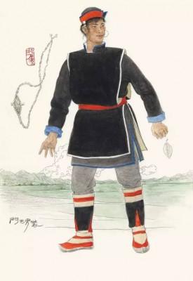 《門巴族男服》 2010年