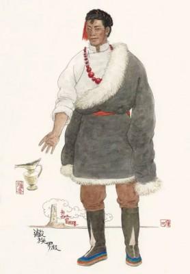 《チベット族男服》 2010年